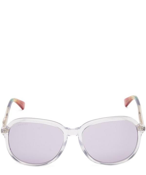 2a190509b72 Rainbow Tip Acetate Sunglasses ...