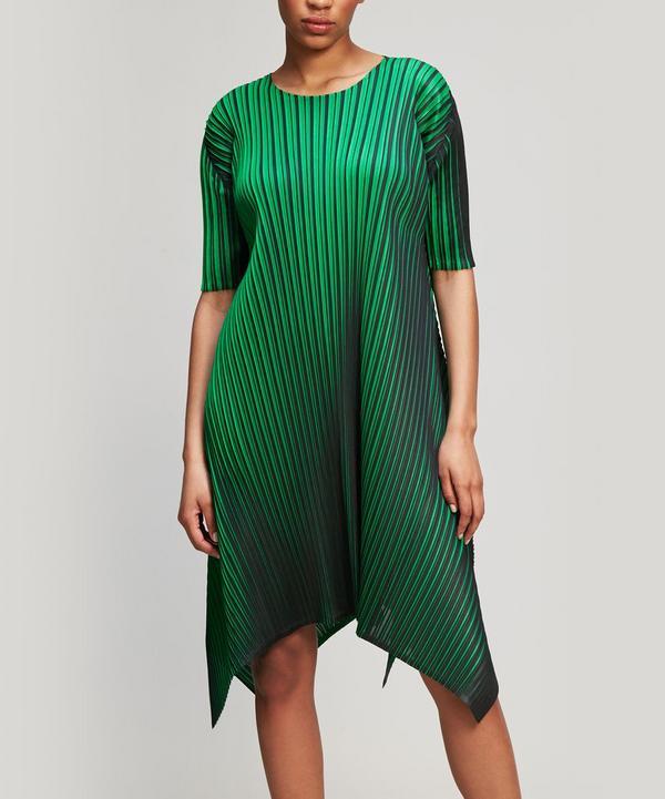 Neon Wide-Cut Dress