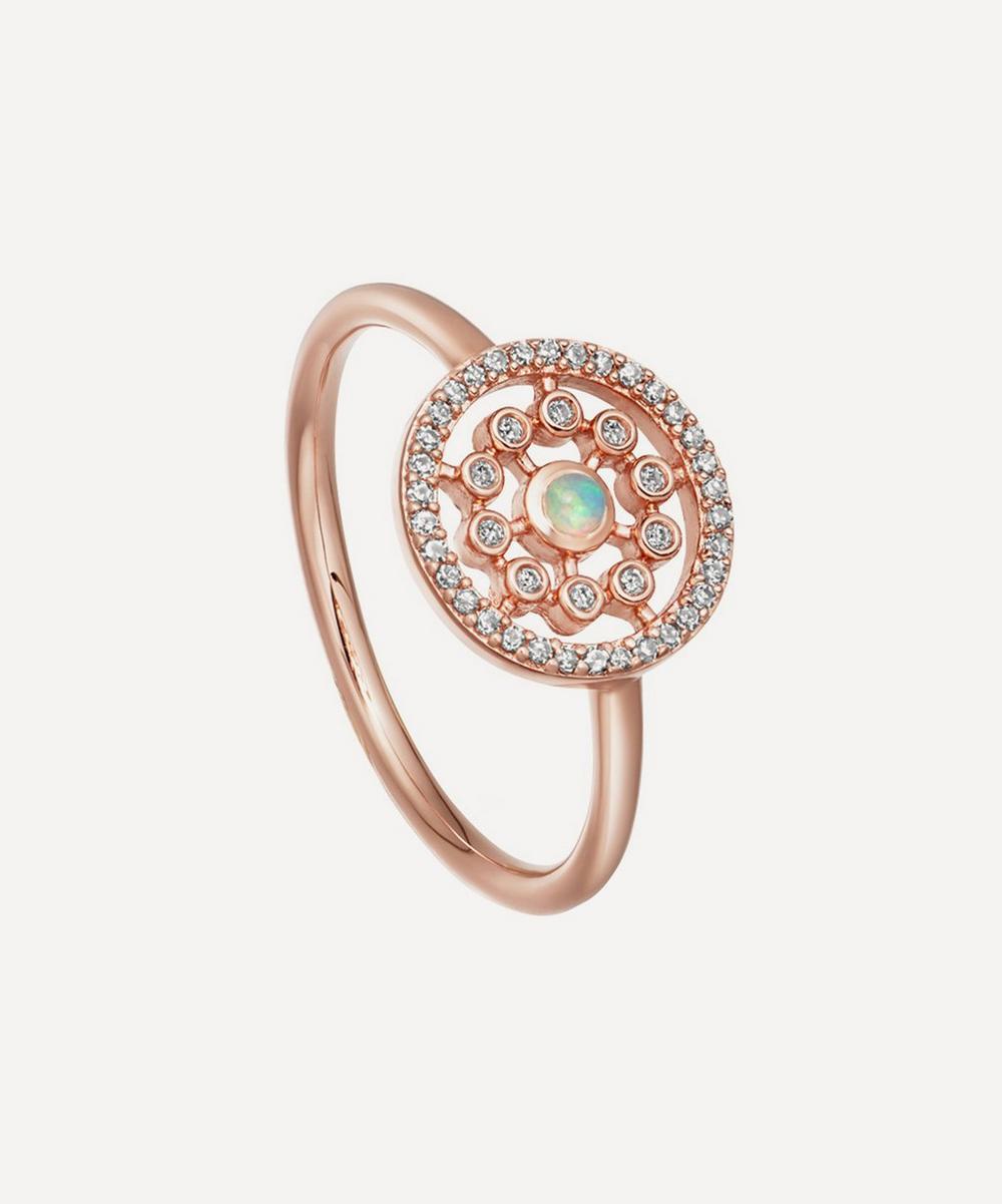 Rose Gold Icon Nova Medium Opal Ring