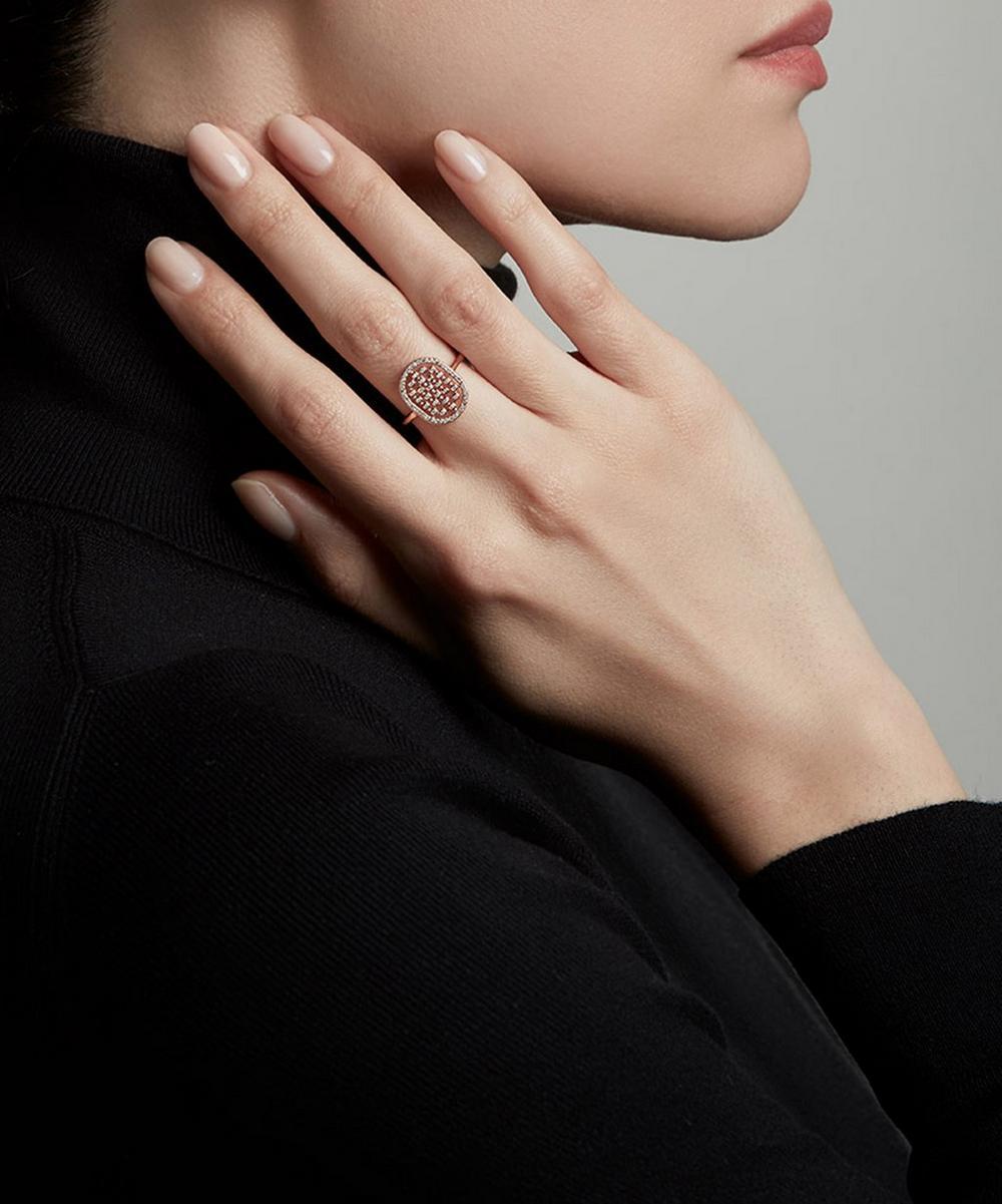 Rose Gold Icon Nova Diamond Ring