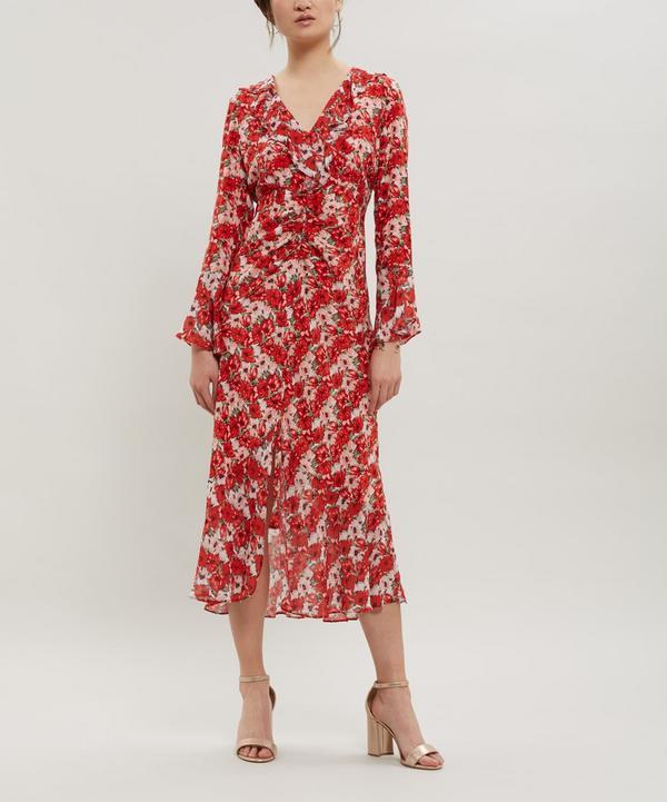 5a45aa85ce86 Colleen Silk Maxi-Dress ...