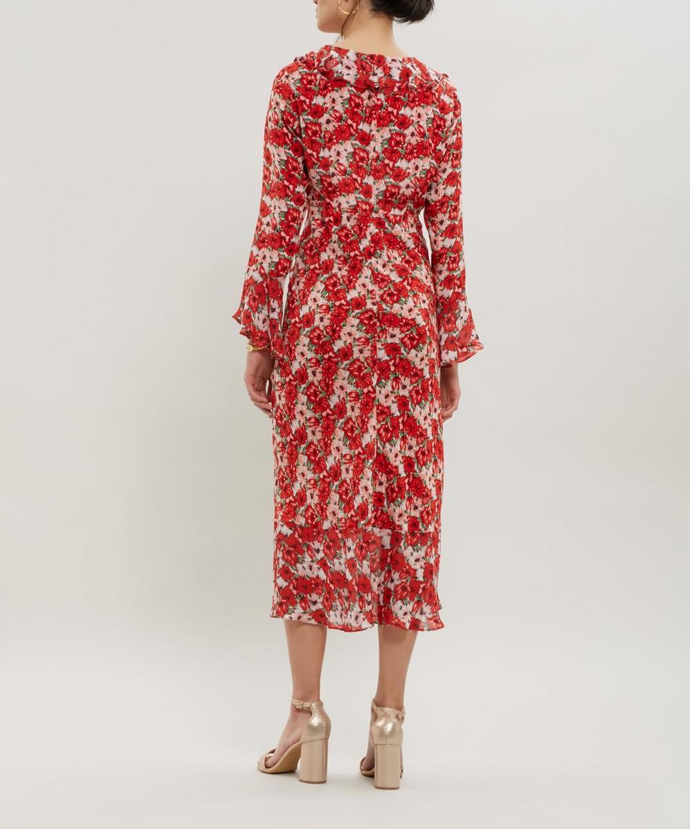 Colleen Silk Maxi-Dress