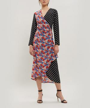 Betty Cross Over Maxi Dress