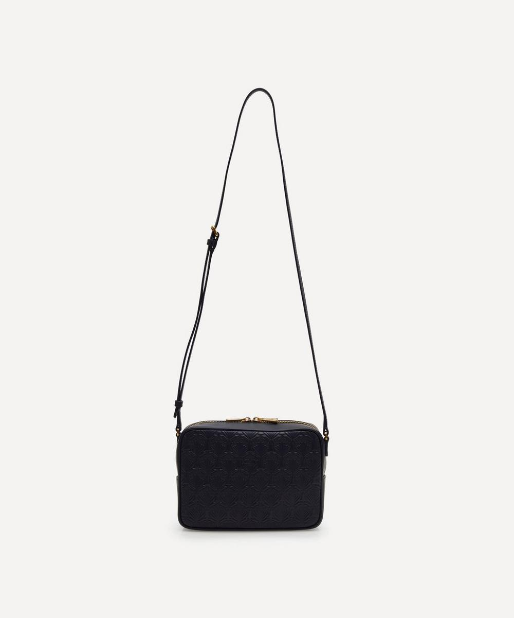 Iphis Embossed Leather Maddox Cross Body Bag