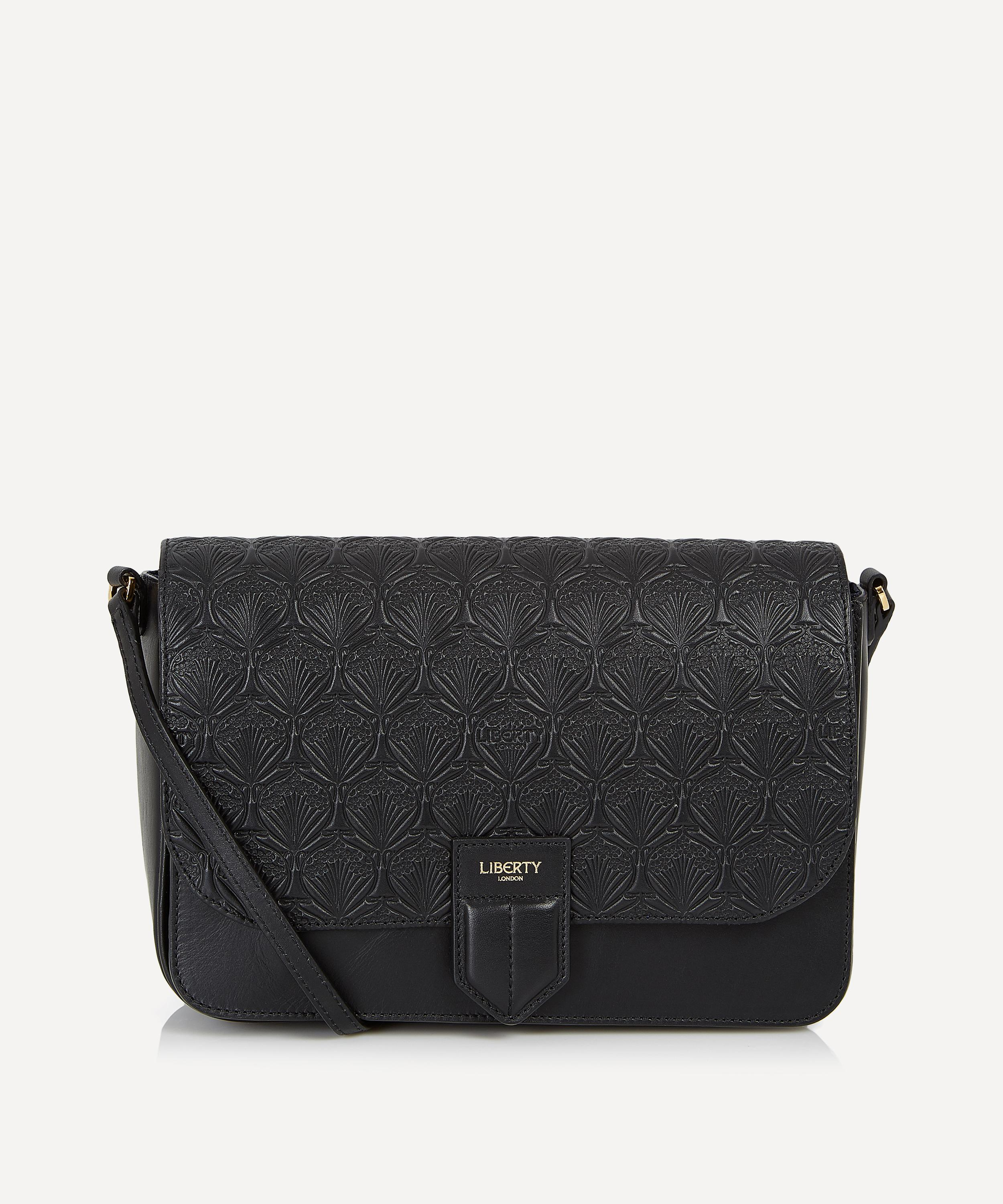 620108296afe Iphis Embossed Leather Portland Cross Body Bag