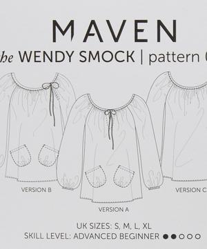 Wendy Smock Blouse Pattern 02