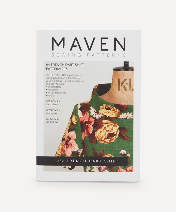 Maven Patterns - French Dart Shift Dress Pattern 03