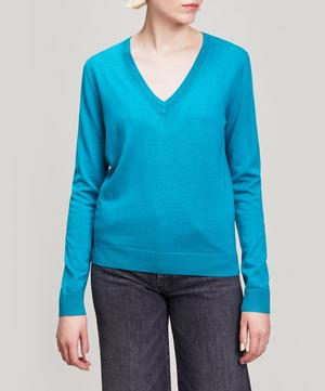 Merino Wool V-Neck Jumper