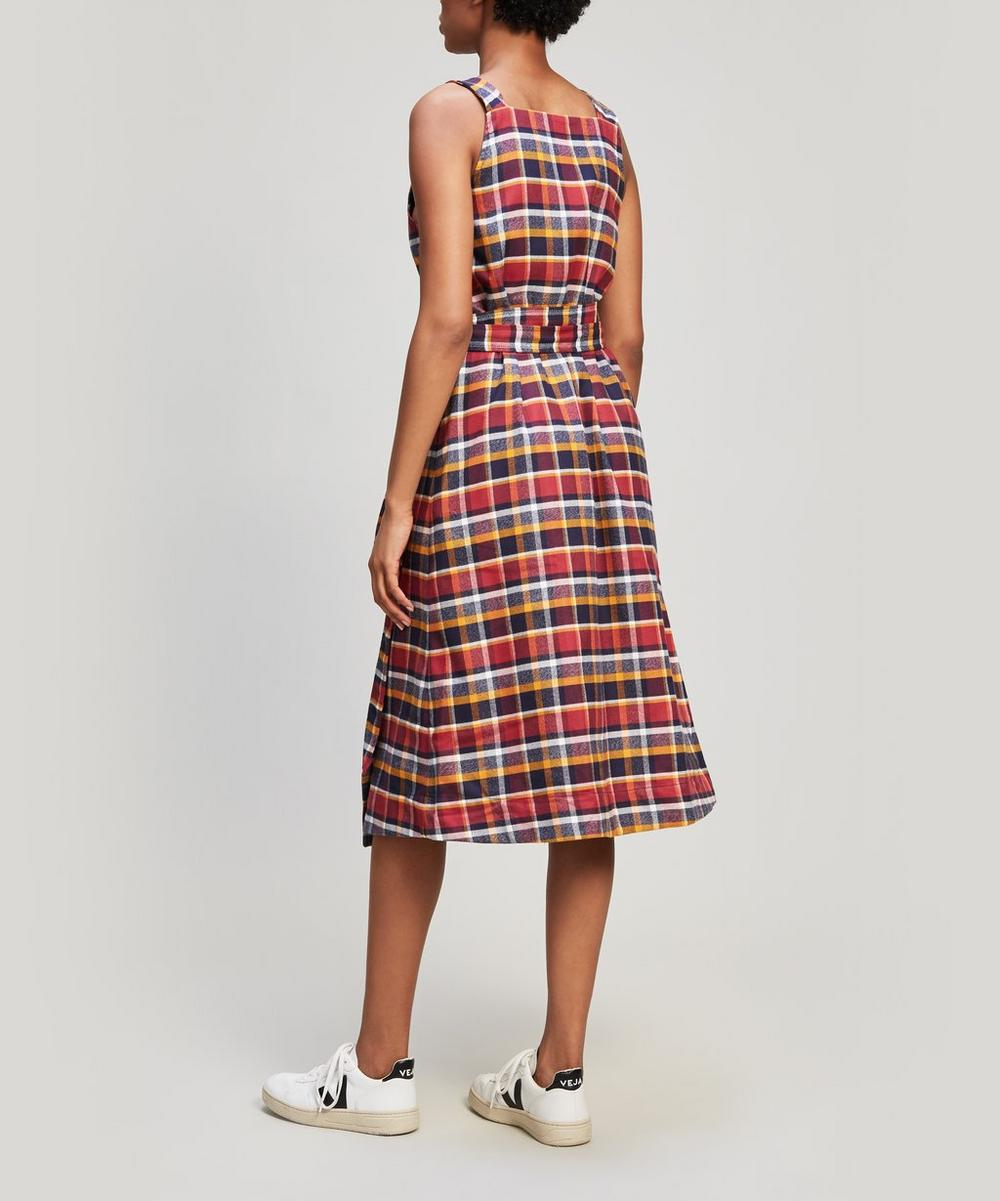 Julia Brushed Flannel Dress