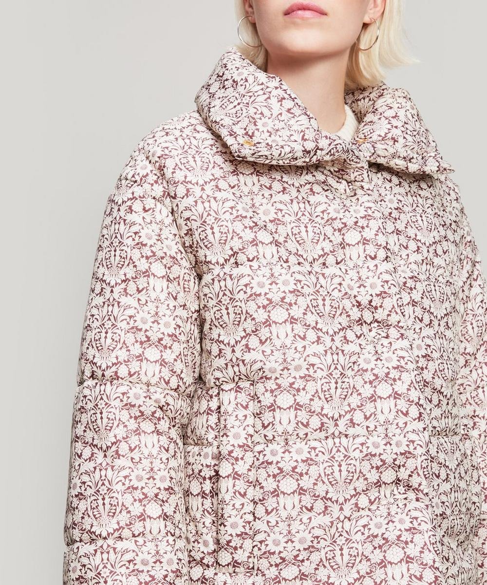 Liberty Fabric Mortimer Print Hide Puffer Jacket