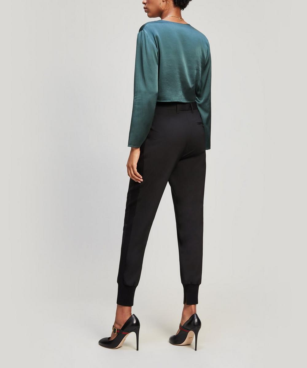 Lightweight Stretch-Wool Jogger Pants