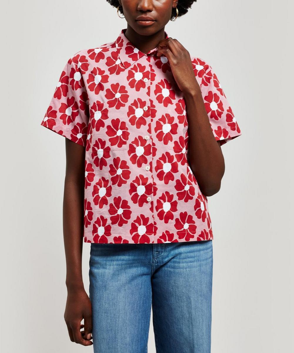 Vegas Flower Print Shirt