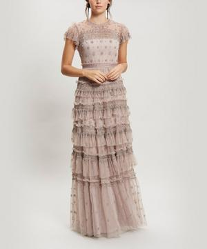 Andromeda Embellished Maxi-Dress