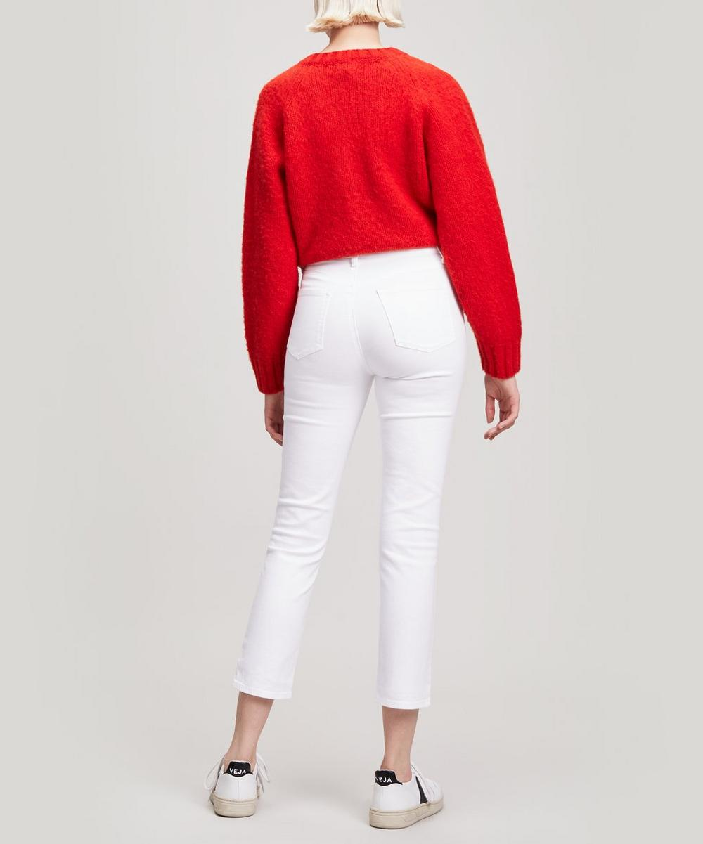 Ruby High-Rise Crop Jeans