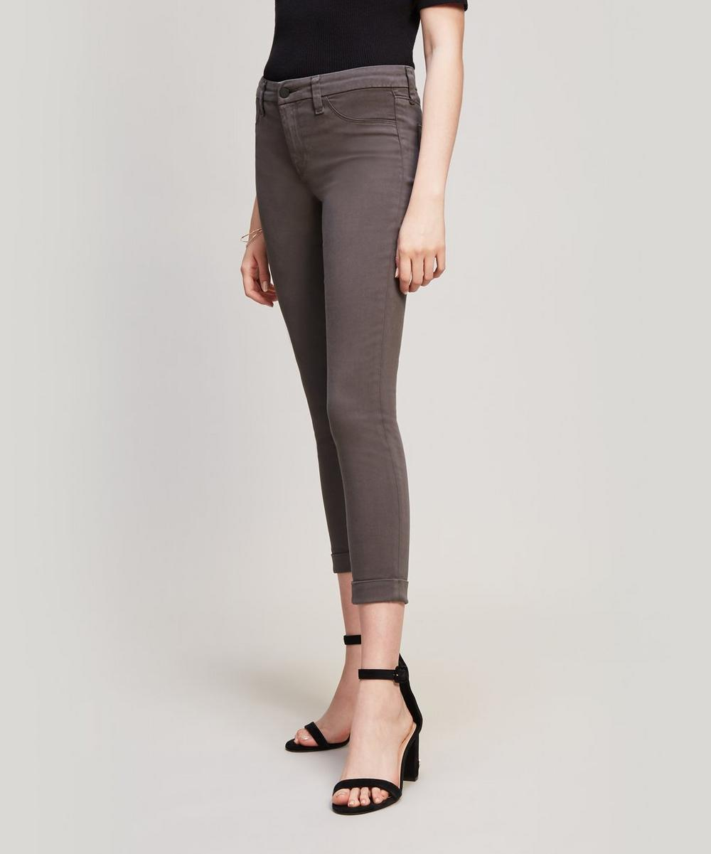 Anja Mid Rise Crop Skinny Jeans