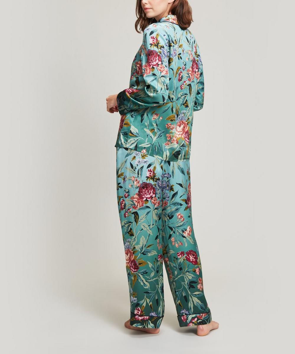 Desert Rose Silk Satin Pyjama Set