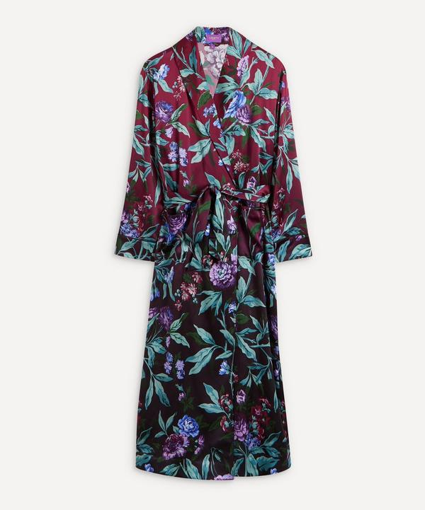 0a05e728a01c Desert Rose Silk Satin Long Robe ...