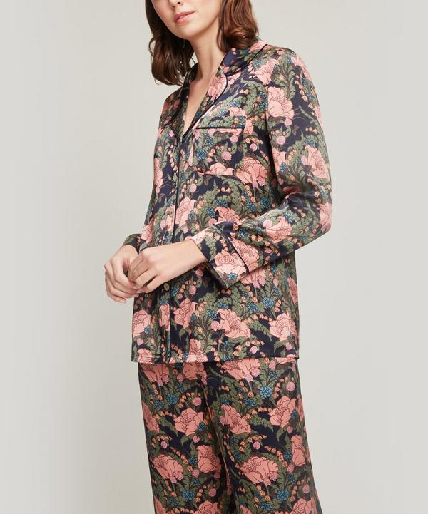 June Silk Satin Long Pyjama Set ... 8e27dd424