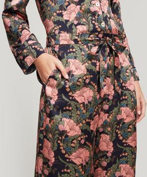 June Silk Satin Long Pyjama Set