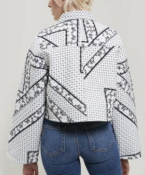 Elkheart Scarf Print Quilted Cotton Jacket