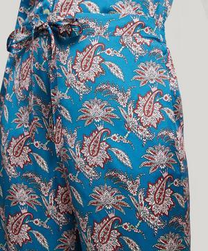 Leontine Silk Satin Long Pyjama Set