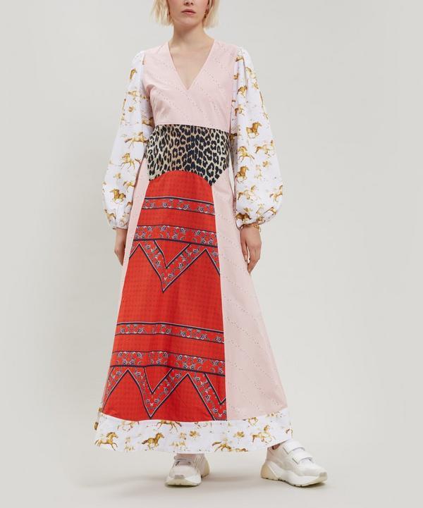 Sweeney Contrast Print Dress