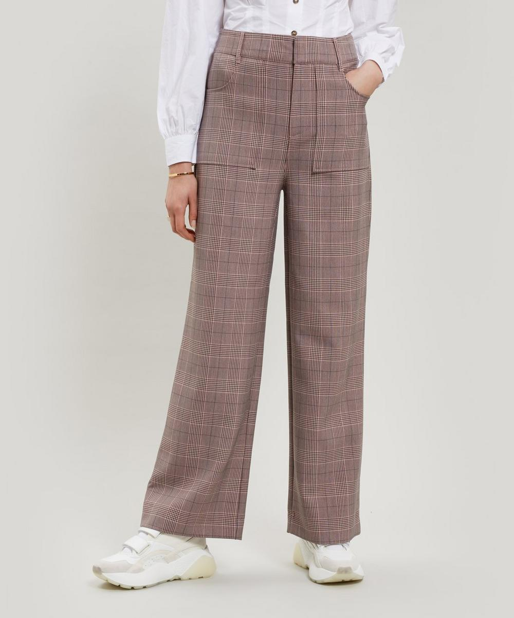 Hewitt Check Trousers