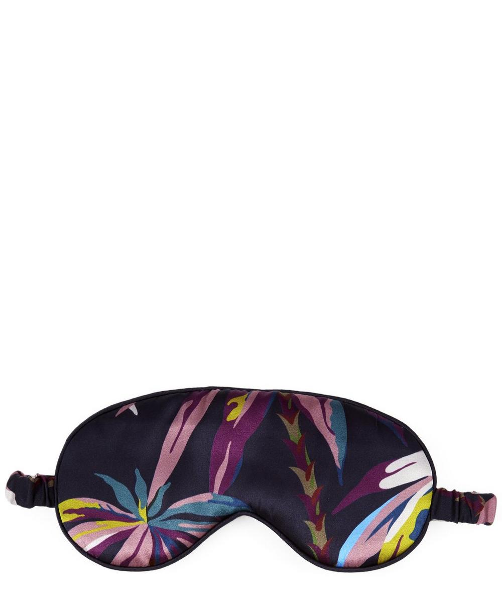 Oasis Silk Satin Eye Mask and Pillowcase Set