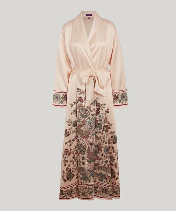 914f3f631b Tree of Life Silk Satin Long Robe ...
