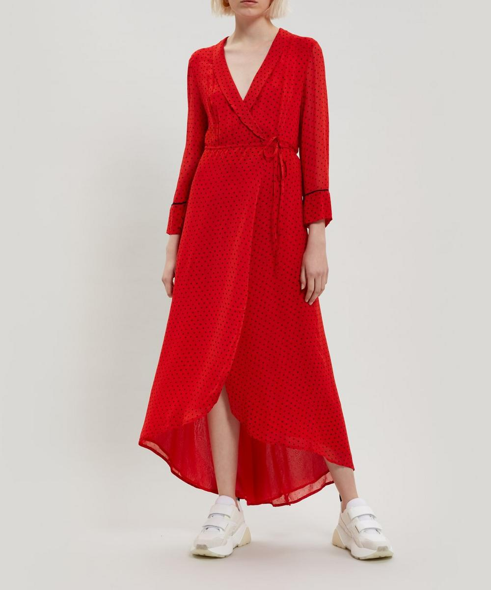 Mullen Georgette Wrap-Dress