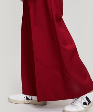 Wide Leg Tailored Trousers
