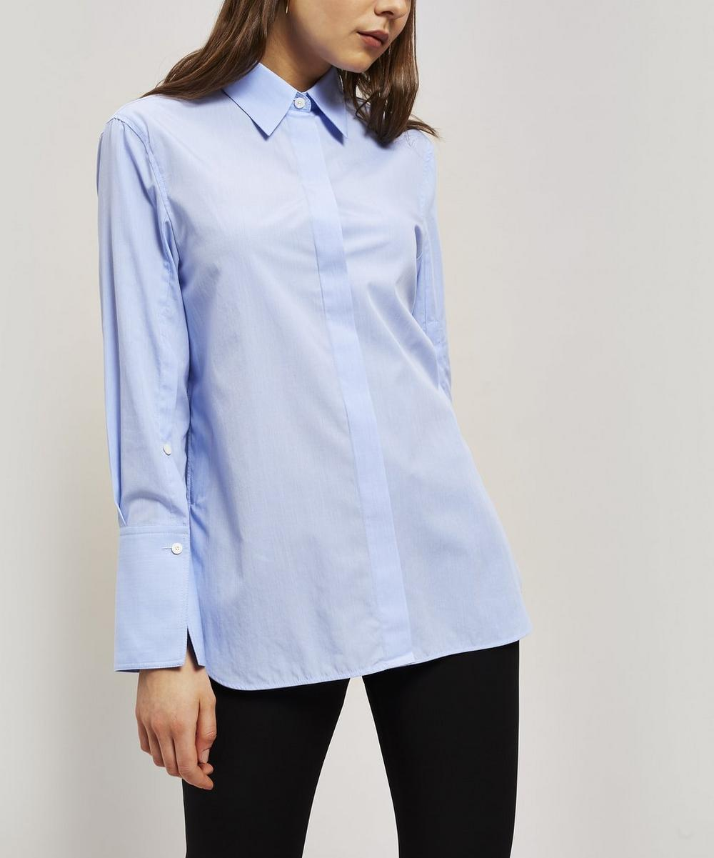 Joseph Accessories MASON OPEN CUFF COTTON SHIRT