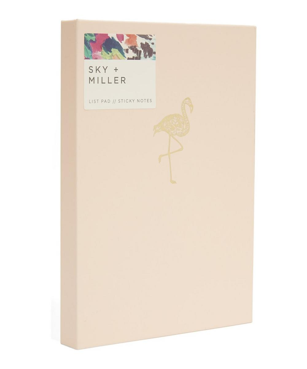 Flamingo Memo Notepad