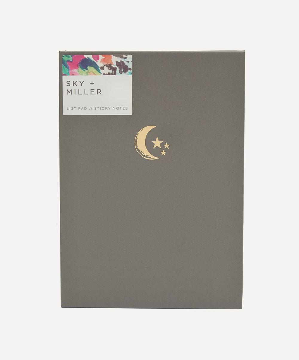Moon Stars Memo Notepad
