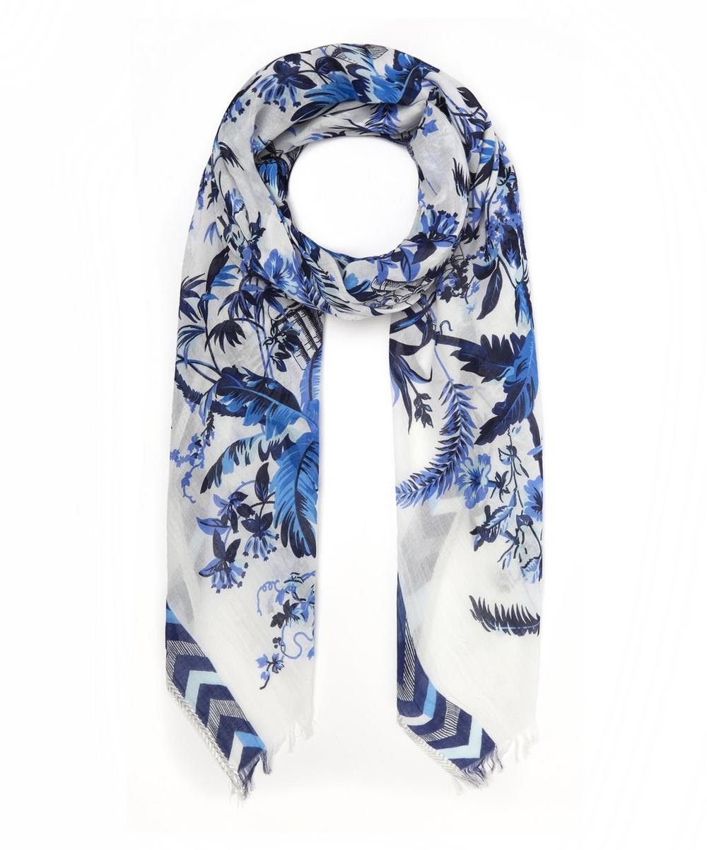 Quartier Latin Cotton-Blend Scarf