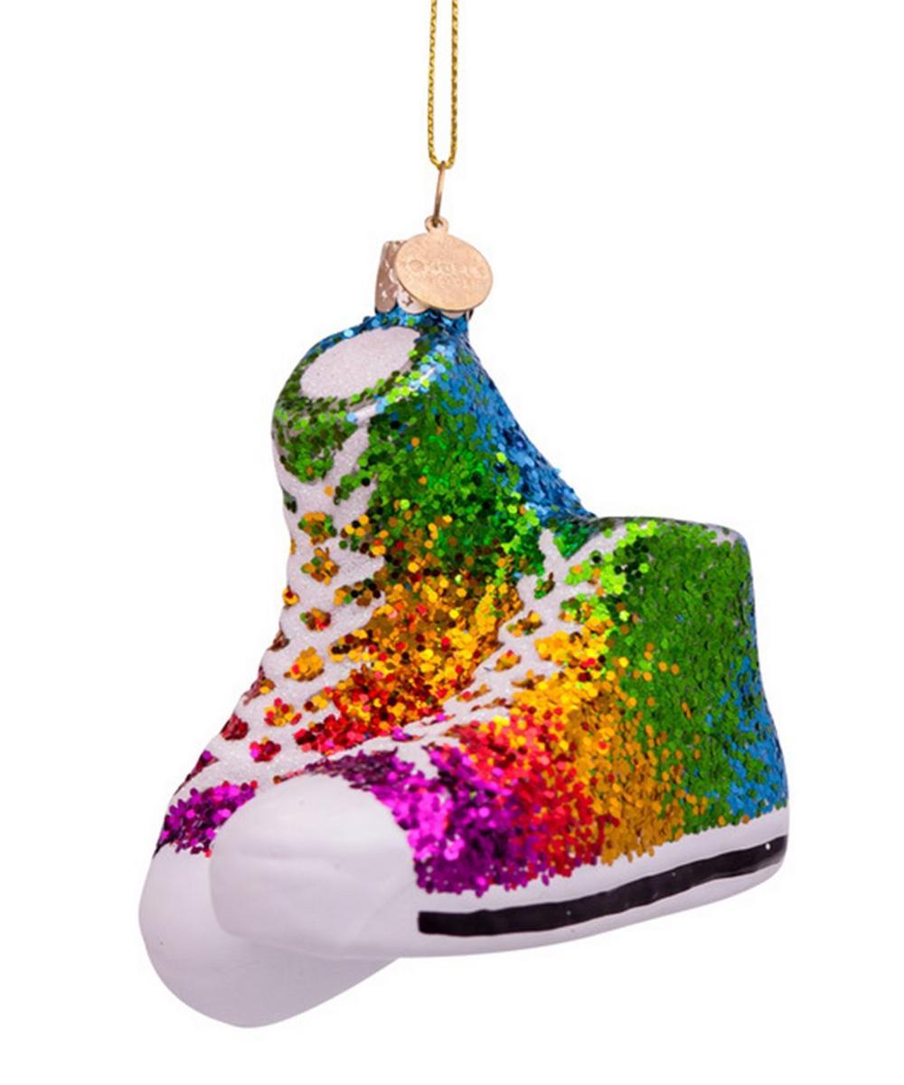 Glitter Rainbow Shoes Decoration