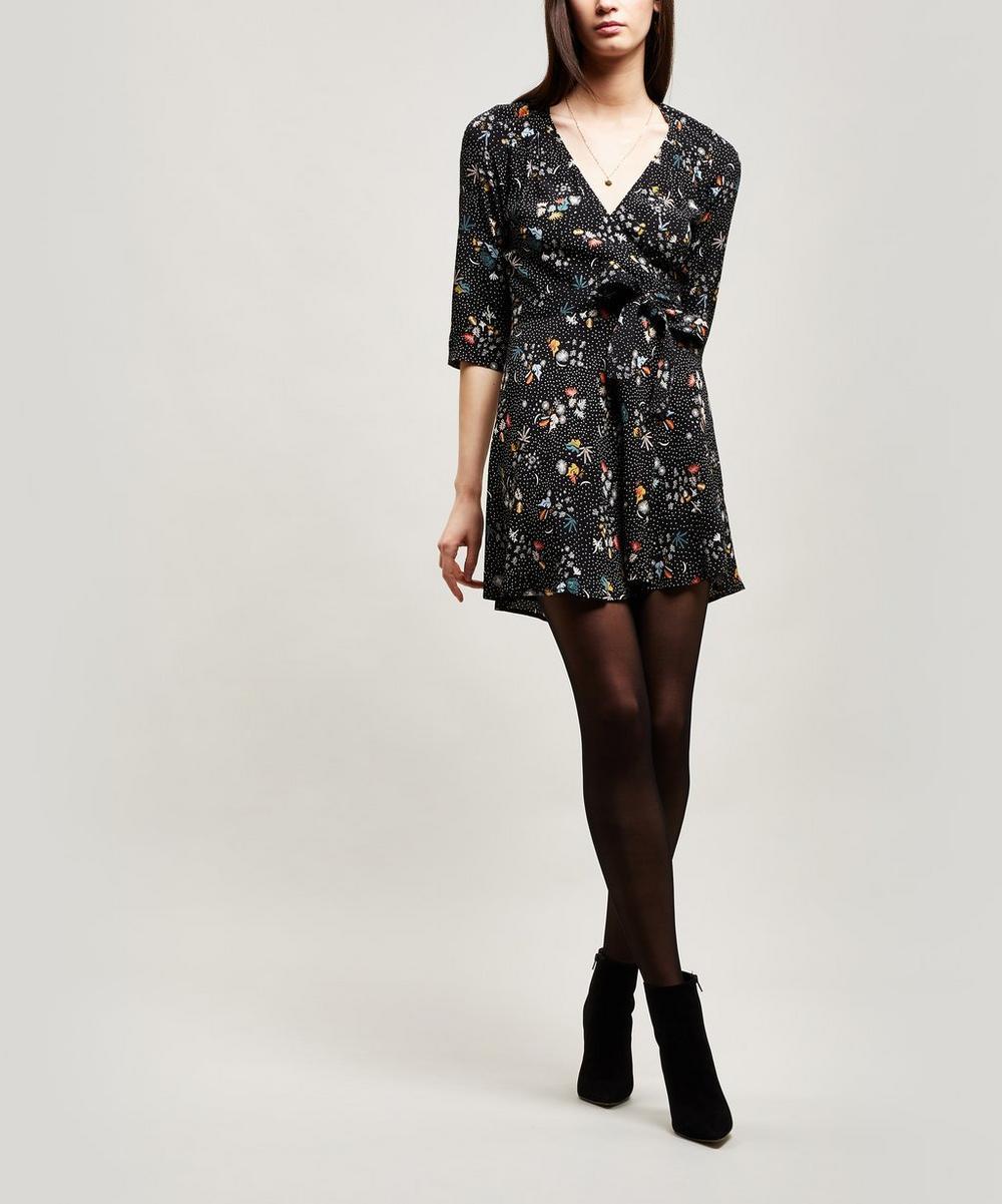 Chicachi Floral Wrap-Dress
