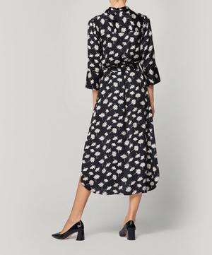 Daisy Button Front Maxi Dress