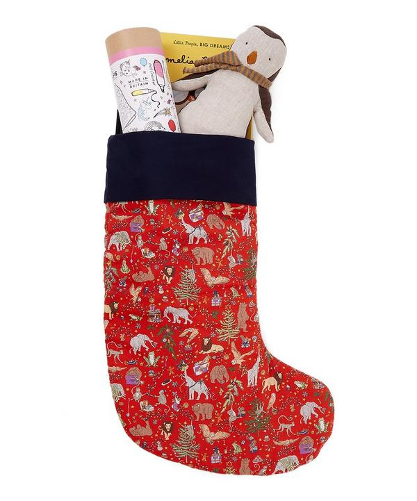 Little Liberty Red Christmas Stocking 2018