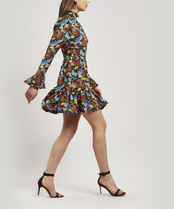 Short Visconti Crepe de Chine Dress