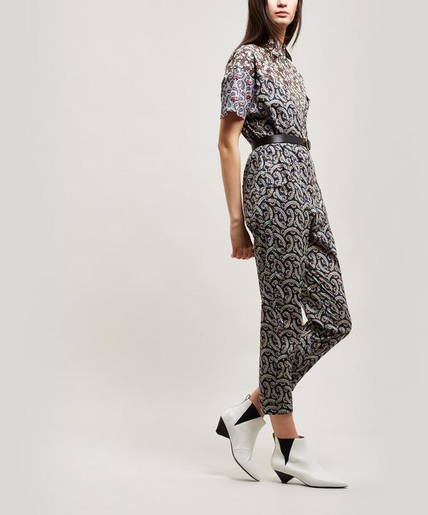 0b238c8ebf Lindsie Multi Print Cotton Jumpsuit ...