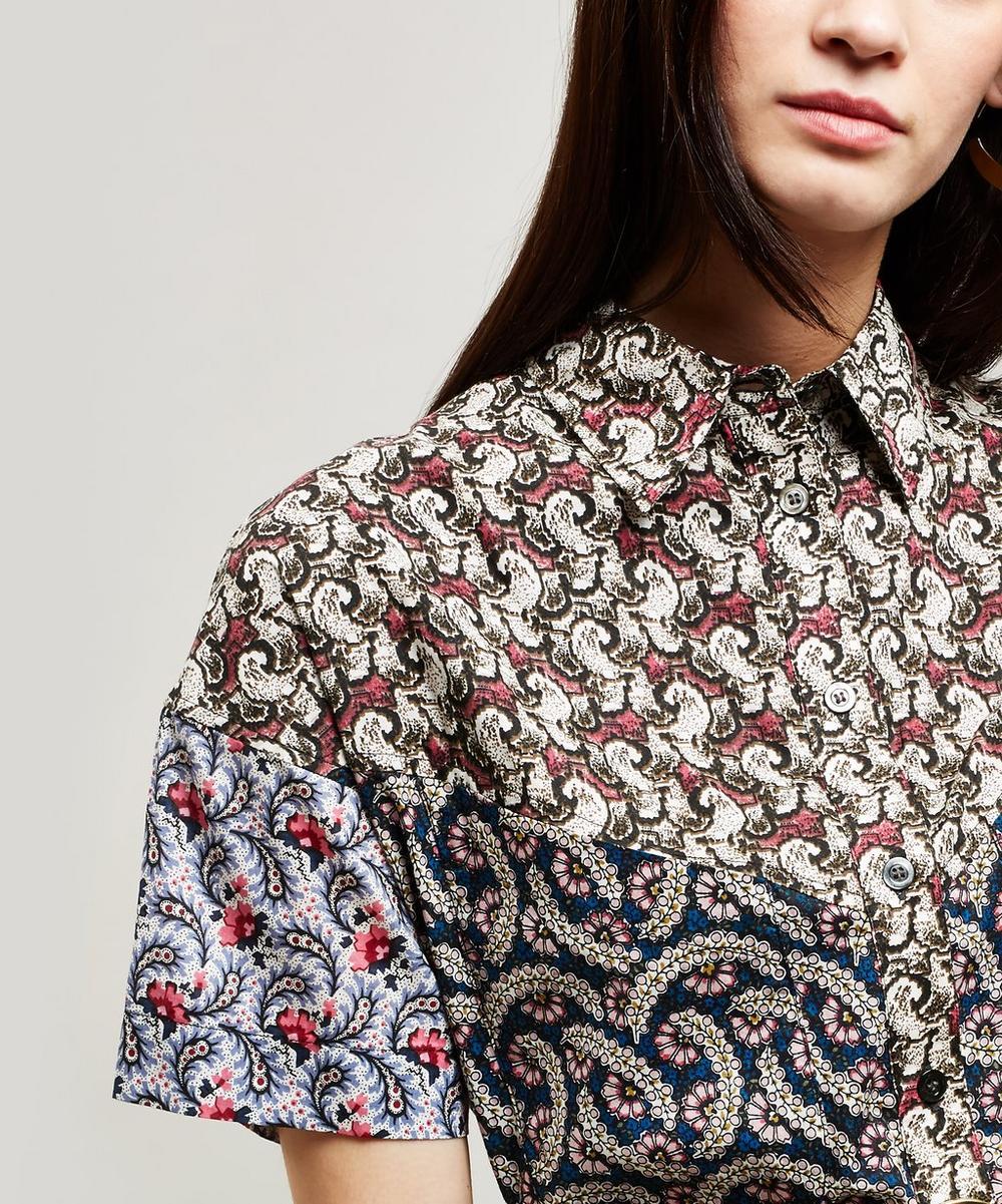 Lindsie Multi Print Cotton Jumpsuit