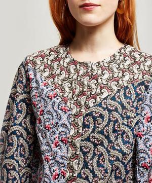 Loris Multi Print Cotton Top
