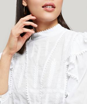 Anny Embroidered Cotton Top