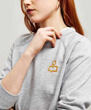 Millie Mini Logo Crew-Neck Sweater
