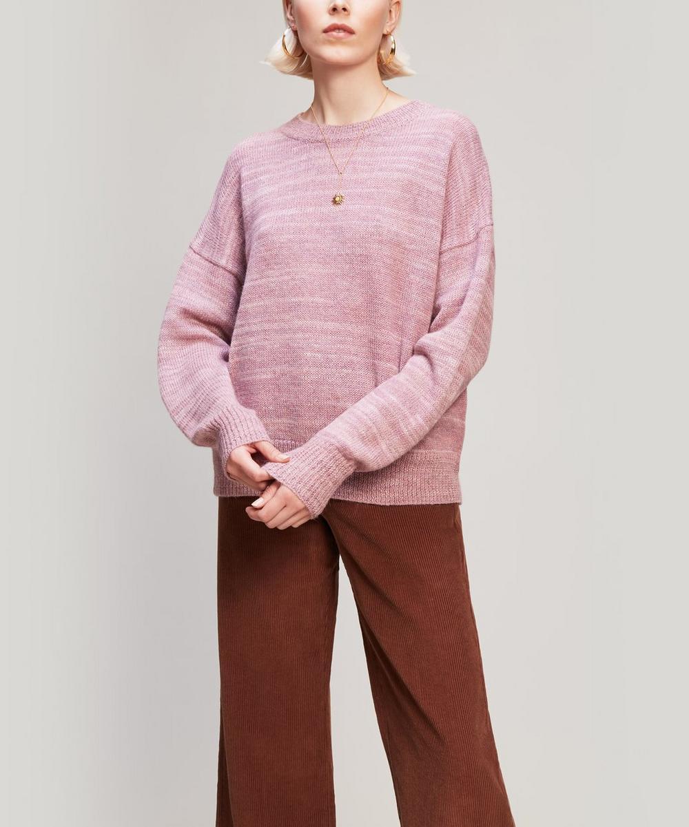 Gatliny Alpaca-Blend Crew-Neck Sweater