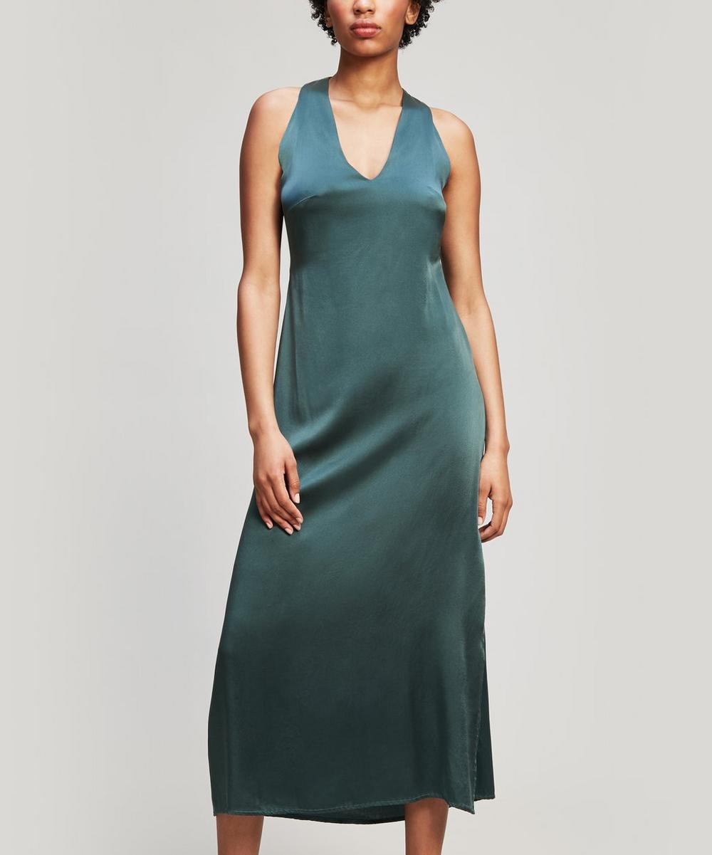 Atalaia Silk Midi-Dress