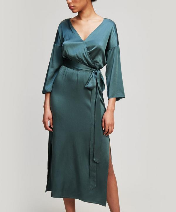 Leonor Wrap Midi-Dress