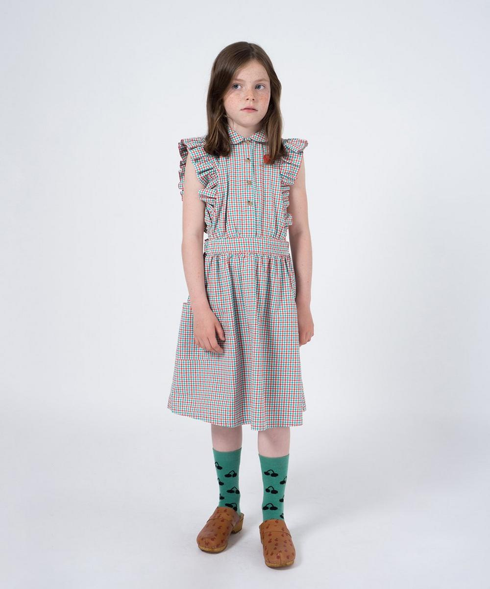 Vichy Ruffled Dress 2-8 Years
