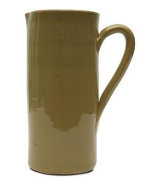 Extra Large Glazed Ceramic Jug